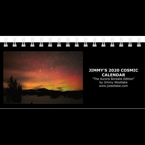 "Jimmy's 2020 Cosmic Calendar - ""The Aurora Borealis Edition"" (Desktop)"