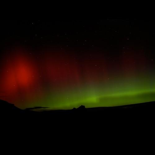 Aurora Over Yampa Buttes, Colorado