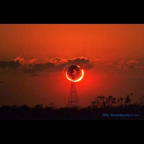 """""""Ring of Fire"""" Over Sundown, TX"""